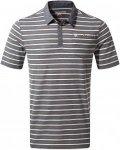 Craghoppers NosiLife Gilles Kurzarm Polo Shirt Men - Poloshirt - ombre blue stri