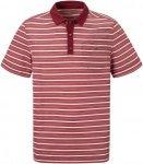 Craghoppers NosiLife Gilles Kurzarm Polo Shirt Men - Poloshirt - red earth strip