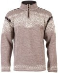 Dale of Norway Anniversary Sweater Men - Strickpullover - mountain stone brown -