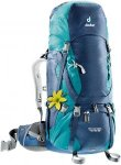 Deuter Aircontact 40+10 SL - Kleiner Trekkingrucksack für Damen - midnight blue