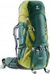 Deuter Aircontact 65+10 - Rucksack für Trekking und Reisetouren - forest green/