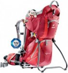 Deuter Kid Comfort 2 - Kindertrage / Kinderkraxe - cranberry red