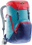 Deuter Walker 24 - Rucksack im Retro Design - denim blue/navy/red