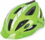 Endura Luminite Helm - Fahrradhelm mit LED Leuchte und Reflektoren - grün neon