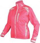 Endura Luminite II Jacke Women - Rad Regenjacke - neon pink - Gr.L