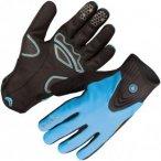 Endura Windchill Handschuhe Women - Softshell Radhandschuhe - blau - Gr.M