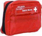 Erste Hilfe Set Standard für Trekking, Fahrrad und Reisetouren - rot - gefüllt