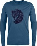 Fjällräven Abisko Trail T-Shirt Printed Long Sleeve Men - Langarmshirt - uncle