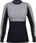 Fjällräven Bergtagen Woolmesh Sweater Women - Wollshirt - grey - Gr.M