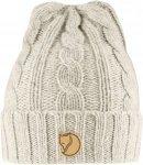 Fjällräven Braided Knit Hat - Wollmütze - chalk white