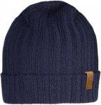 Fjällräven Byron Hat Thin - Wolle Strickmütze - dark navy blue