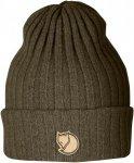 Fjällräven Byron Hat - Wintermütze aus Wolle - dark olive brown green