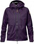 Fjällräven Keb Eco Shell Jacket Women - Regenjacke - alpine purple violett 590