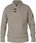 Fjällräven Lada Sweater Men - Strickpullover - fog/brown 021 - Gr.XL
