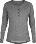 Fjällräven Numbers Base Sweater No.3 Women - Merino Longsleeve - grey - Gr.L