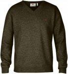 Fjällräven Shepparton Sweater - Pullover aus Wolle - dark olive 633 - Gr.L