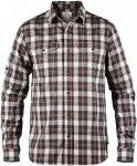Fjällräven Singi Flannel Long Shirt Men - Outdoorhemd - dusk grey/red 042 - Gr