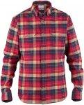 Fjällräven Singi Heavy Flannel Shirt Men - Baumwoll Flannelhemd - deep red 325