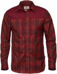 Fjällräven Singi Pro Shirt Long Sleeve Men - Trekkinghemd - dark garnet red -