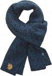 Fjällräven Snow Scarf - Winterschal aus Wolle - storm blue