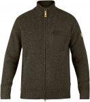 Fjällräven Sörmland Zip Cardigan Jacket Men - Strickjacke aus Wolle - dark ol