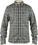 Fjällräven Stig Flannel Shirt Men - Flannelhemd - black grey/green 550 - Gr.M