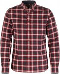 Fjällräven Stig Flannel Shirt Men - Flannelhemd - ox red 326 - Gr.L