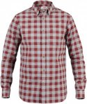 Fjällräven Övik Check Shirt Long Sleeve Men - Outdoorhemd - red oak - Gr.L