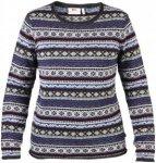 Fjällräven Övik Folk Knit Sweater Pullover Women - Damen Wollpullover - uncle