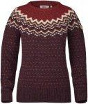 Fjällräven Övik Knit Sweater Women - Winterpullover - dark garnet red 356 - G
