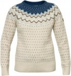 Fjällräven Övik Knit Sweater Women - Winterpullover - weiss glacier green 646