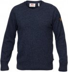 Fjällräven Övik Re-Wool Sweater Men - Pullover mit Wolle - dark navy - Gr.S