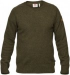 Fjällräven Övik Re-Wool Sweater Men - Pullover mit Wolle - dark olive green -