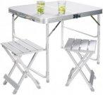 Grand Canyon Alu Koffer-Tisch für 2 Personen - - Koffer-Tisch Set