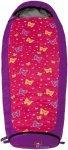 Grüezi Bag Schlafsack Kids Butterfly - Kinderschlafsack - 140-180 cm - Zipp Lin