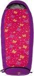 Grüezi Bag Schlafsack Kids Butterfly - Kinderschlafsack - 140-180 cm - Zipp Rec