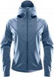 Haglöfs Boa Hood Jacket Women - Softshelljacke - blue ink - Gr.L