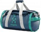 Haglöfs Lava Duffle Bag 50 - Reisetasche - blue ink/crystal lark green