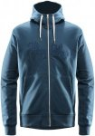 Haglöfs Norbo Hood Jacket Men - Kapuzen Sweatjacke - blue ink - Gr.L