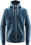 Haglöfs Norbo Hood Jacket Men - Kapuzen Sweatjacke - blue ink - Gr.S