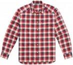 Haglöfs Tarn Flannell Shirt Men - Outdoorhemd - real red/blue - Gr.M