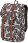 Herschel Little America Backpacks 25L - Tagesrucksack - frog camo/tan synthetic
