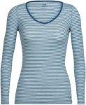 Icebreaker 150 Siren Longsleeve Sweetheart Stripe Shirt Women - Langarmshirt - w