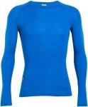 Icebreaker 200 Everyday Crewe Longsleeve Shirt Men - Langarmshirt - awesome blue