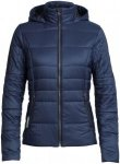 Icebreaker Stratus X Hooded Jacket Women - Thermojacke - midnight blue - Gr.S