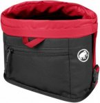 Mammut Boulder Chalk Bag - Kalkbeutel / Magnesiumbeutel - black/inferno red