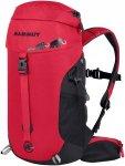 Mammut First Trion 12 - Rucksack für den Kindergarten - black/inferno red 0575