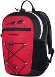Mammut First Zip 16 - Kinderrucksack - black/inferno red