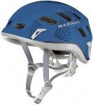 Mammut Helm Rock Rider - Universeller Kletterhelm - cyan blue smoke - 56-61
