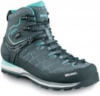 Meindl Schuhe Litepeak Lady GTX - anthrazit/türkis - Gr.38 2/3 - UK 5,5